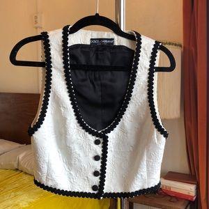 COPY - Dolce & Gabbana bustier top